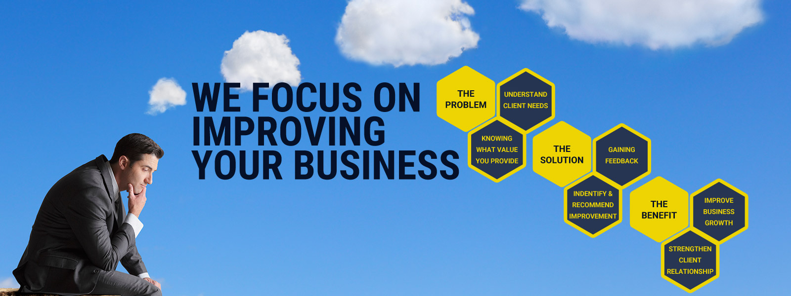 We focus on improving your business, creating solutions to improve your profitability